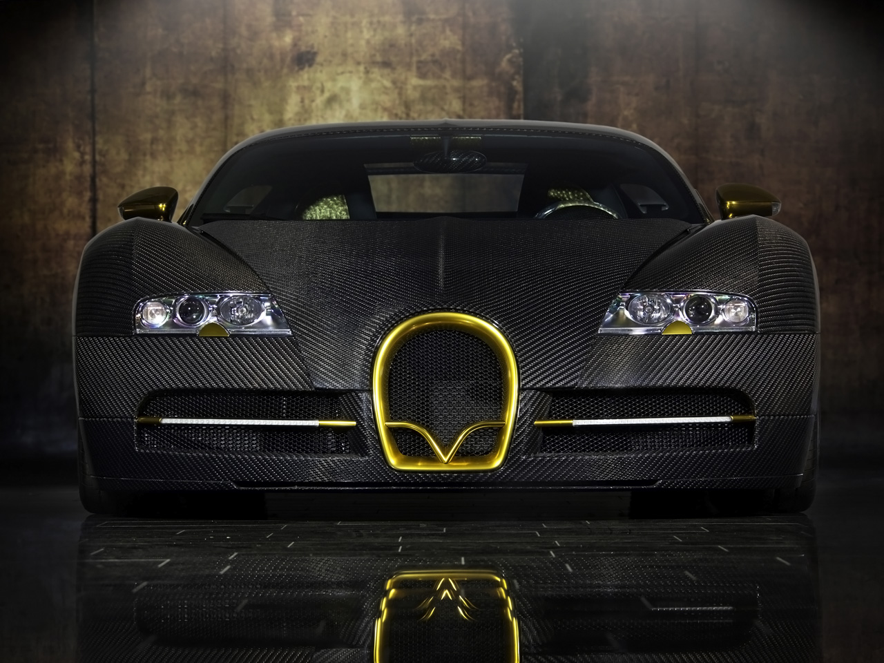 Black And Gold Bugatti I love gold?